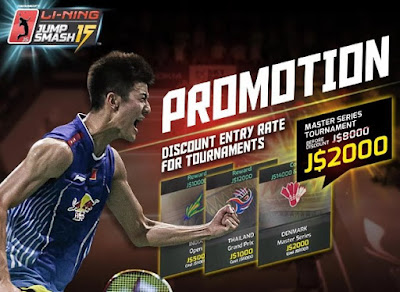 LI-NING JUMP SMASH MOD (UNLIMITED MONEY) APK + OBB FOR ANDROID