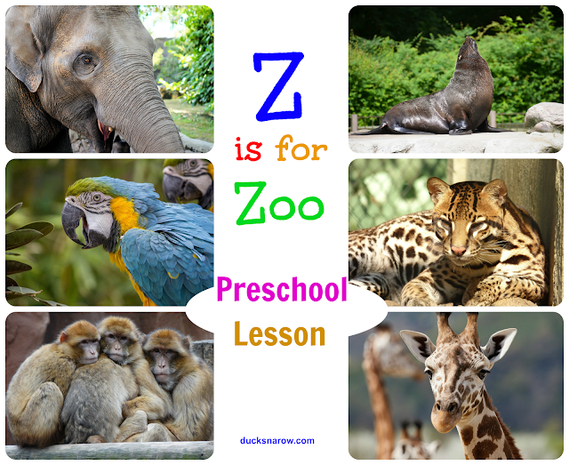 zoo craft; kids craft; preschool craft; Letter Z is for Zoo