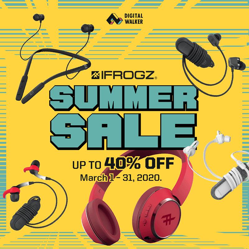 iFrogz Summer Sale