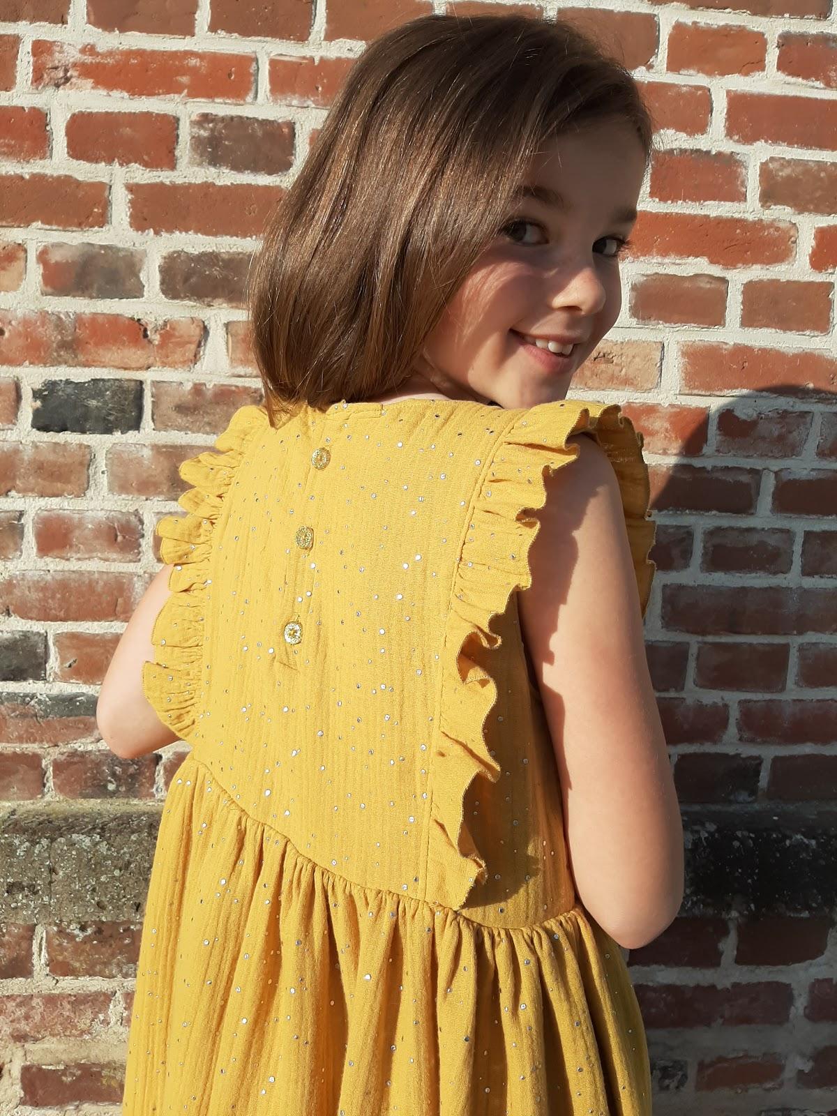 patron couture robe enfant