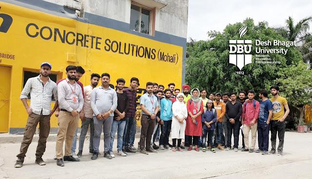 Best B. Tech Civil Engineering College - Desh Bhagat University