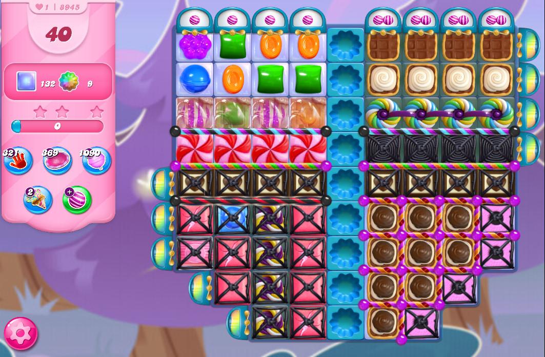 Candy Crush Saga level 8845