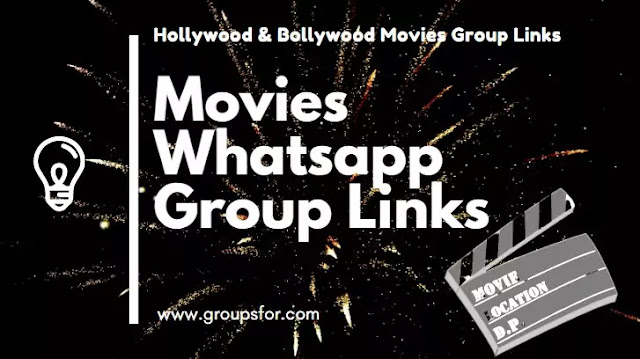 Movies Whatsapp Group Invite Link