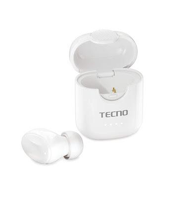 Tecno Minipod M1 with Portable Charging Case,