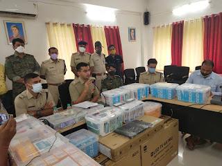 20 करोड़ का मोबाइल फ्राड और साइबर ठगी का मामला, 08 आरोपी गिरफ्तार, 3 सो से ज्यादा मोबाइल जब्त