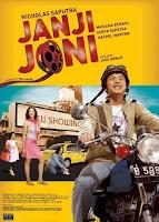 seorang pengantar roll film yang tidak pernah telat mengantar roll film antar bioskop Download Film Janji Joni (2005) DVDRip Full Movie