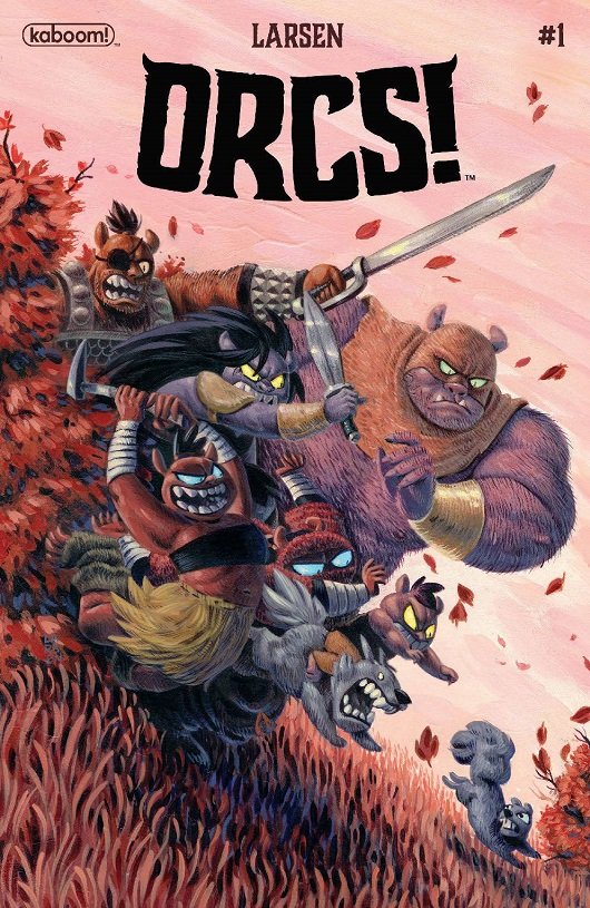 Cover of Orcs #1