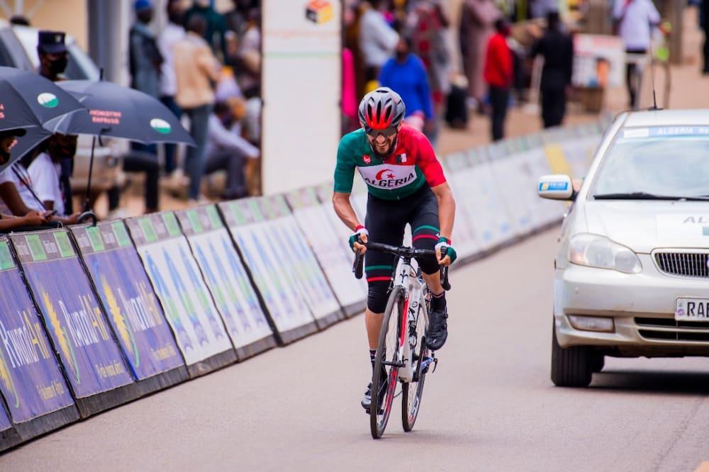 طواف رواندا لدراجات : لعقاب عز الدين في المركز 40 في المرحلة السابعة