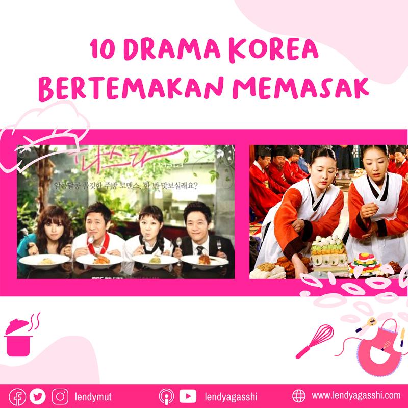 10 Drama Korea Bertemakan Memasak