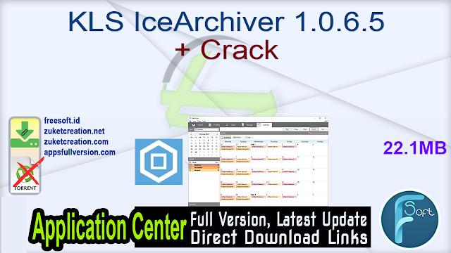 KLS IceArchiver 1.0.6.5 + Crack