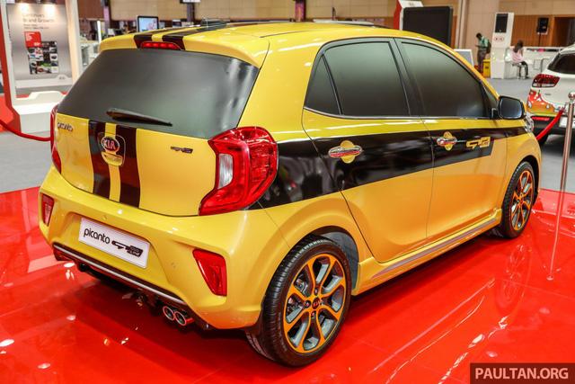 Modifikasi KIA Picanto Warna Kuning Bodykit