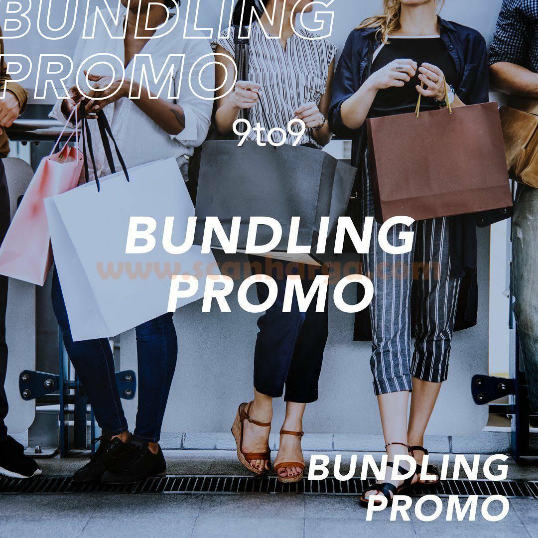 Promo 9to9.id Bundling Promo Periode 13 - 30 Mei 2020
