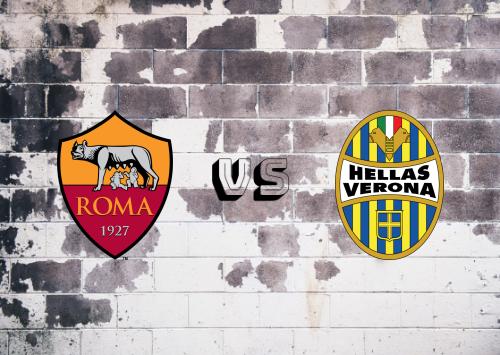 Roma vs Hellas Verona  Resumen