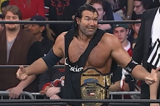 WCW Mayhem 1999 - Scott Hall defended the WCW and TV titles against Booker T