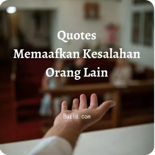 kata bijak memaafkan orang lain