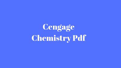 Cengage Chemistry Pdf