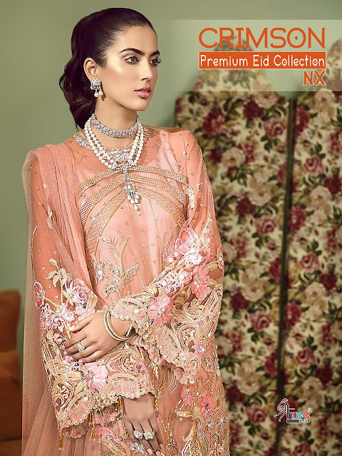 Shree fab Crimson Premium Eid Nx Pakistani Suits