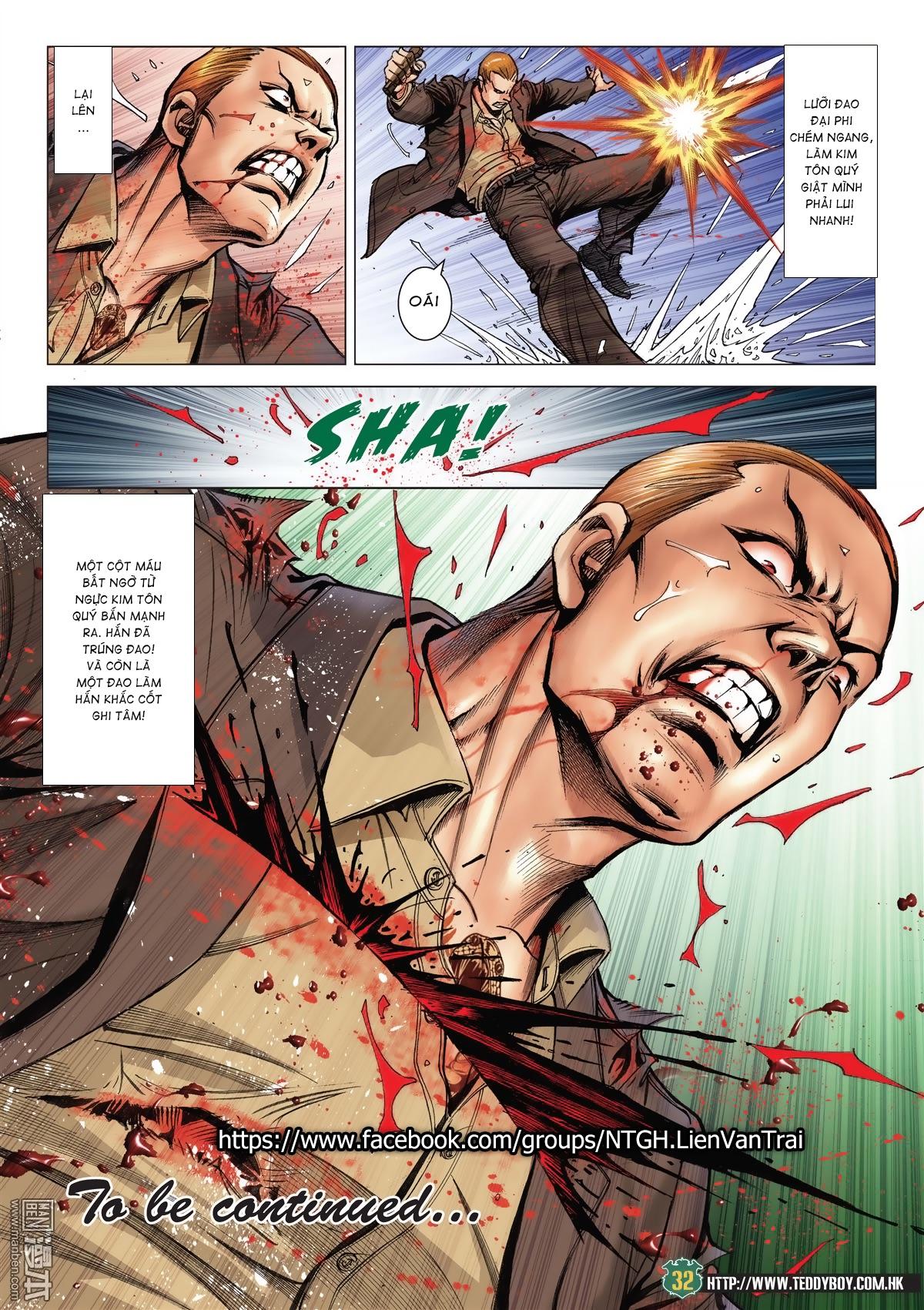 Người Trong Giang Hồ chapter 2033: kim tôn quý vs đại phi trang 29