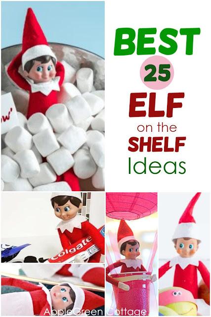 elf on the shelf ideas funny