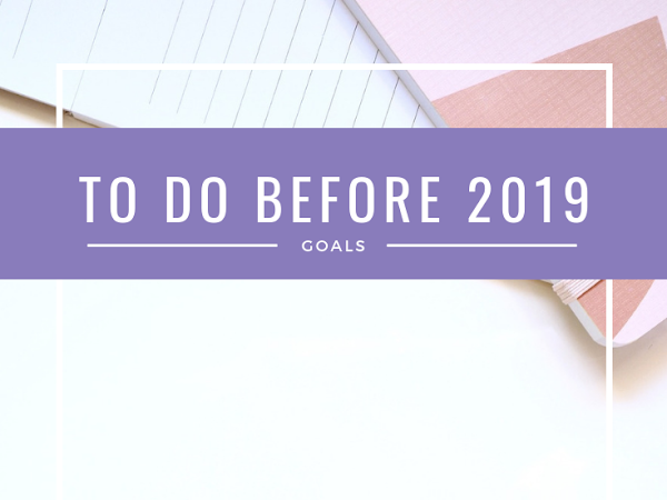 Things To Do Before the End of the Year
