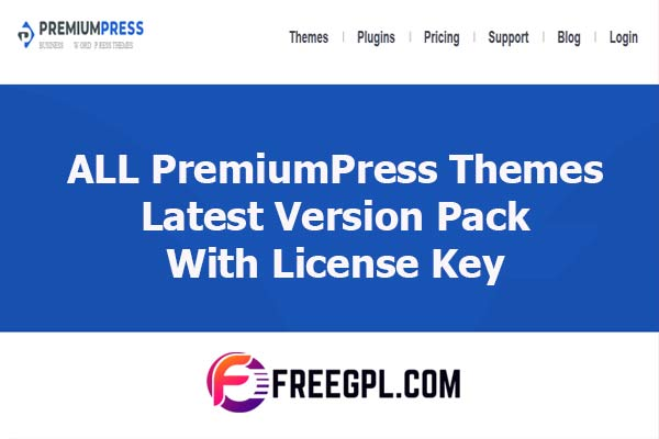 ALL PremiumPress Themes Pack Latest Version With License Key Nulled Download Free