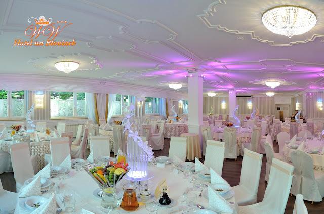 dekoracja sali na ślub