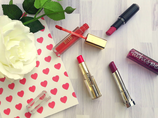 Valentine's Day lipstick - for those who don't wear red