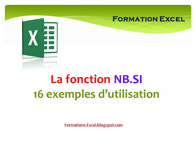 La fonction NB.SI