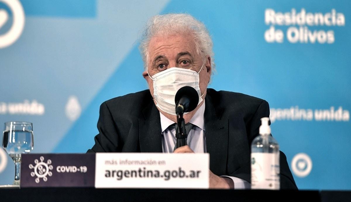 Ginés González García expone hoy en Diputados el sobre plan de vacunación contra el coronavirus