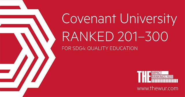 Covenant-University-Ranked-201-300-for-Quality-Education