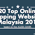 20 Top Online Shopping Website in Malaysia 2015