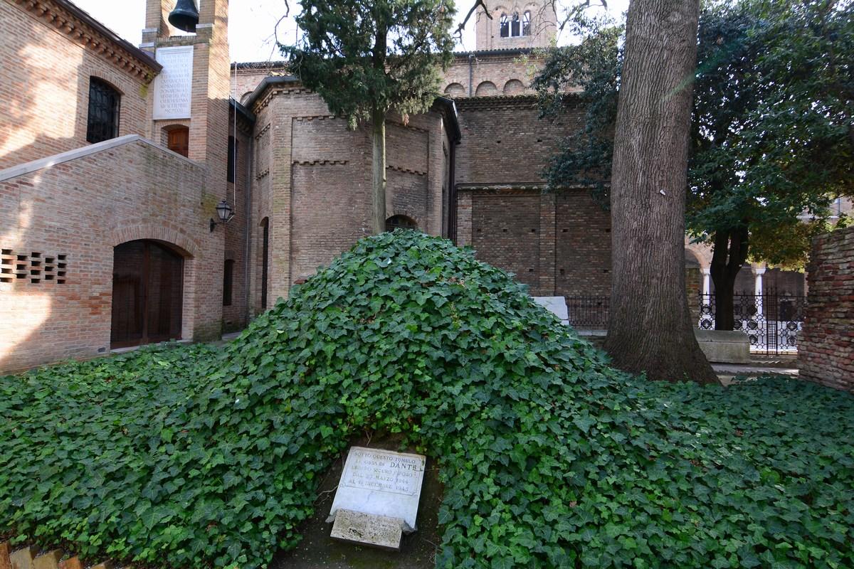 tumulus de Dante, Ravenne