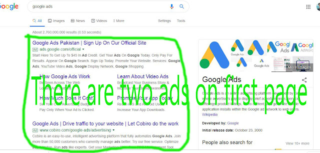 How to show your website on google first page