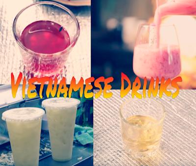 Vietnamese lunar new year delightful drinks