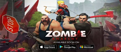 Zombie Anarchy War & Survival Apk v1.0.9d Terbaru 2016