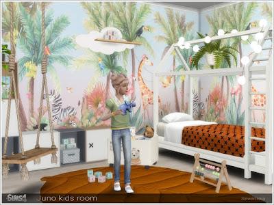Детская комната — наборы мебели и декора для Sims 4 со ссылками для скачивания