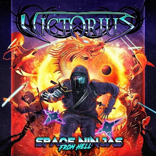 "Το βίντεο των Victorius για το ""Wrath Of The Dragongod"" από το album ""Space Ninjas From Hell"""