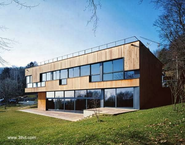 Casa residencial de amplia superficie estilo Contemporáneo en Zagreb, Croacia
