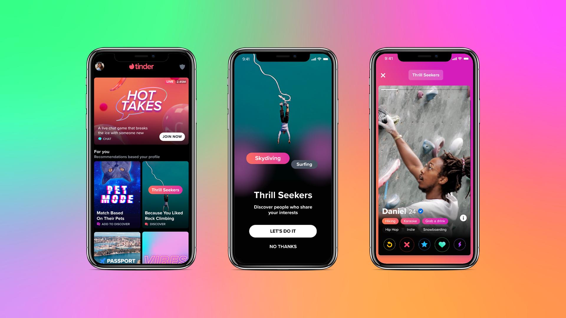 Tinder aggiunge i Video nel profilo e la sezione Esplora per migliori affinità
