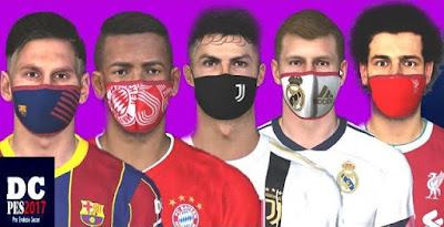 New Facepack with Masks