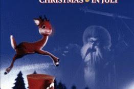 Rudolph y Frosty en Navidad en Julio