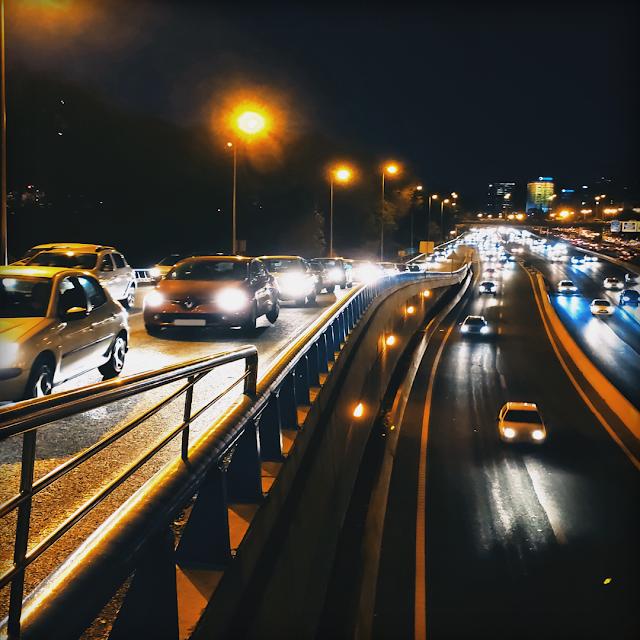 Foto carretera tráfico Madirex