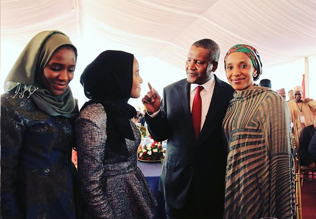 Photos Aliko Dangote S Wife Amp Daughter In Tanzania For