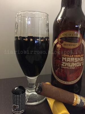 Cigar City - Vanilla Hazelnut Marshal Zhukov's Imperial Stout birra diario birroso blog birra artigianale