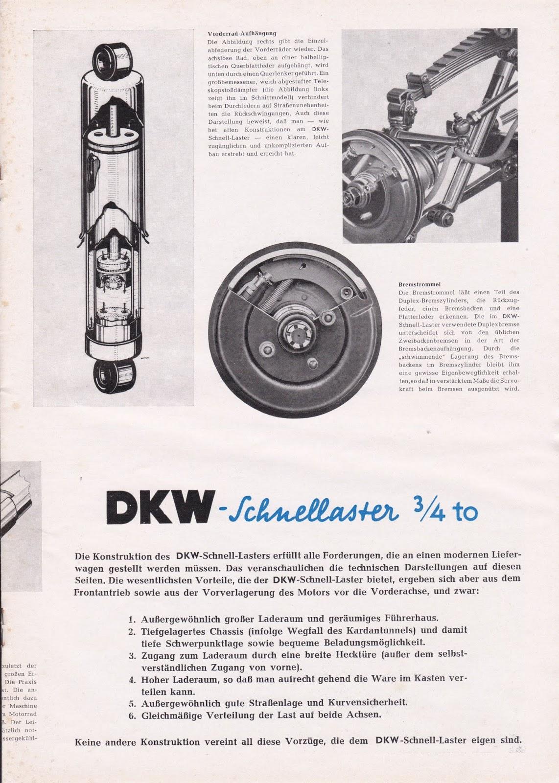 Dkw Auto Union Project 1951 Dkw Nachrichten Vol 10