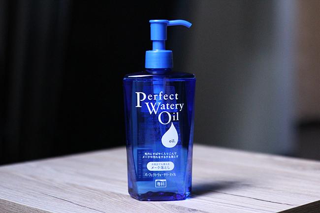 shiseido perfect watery oil отзыв