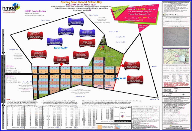 Layout Plan-Yadadri Golden City