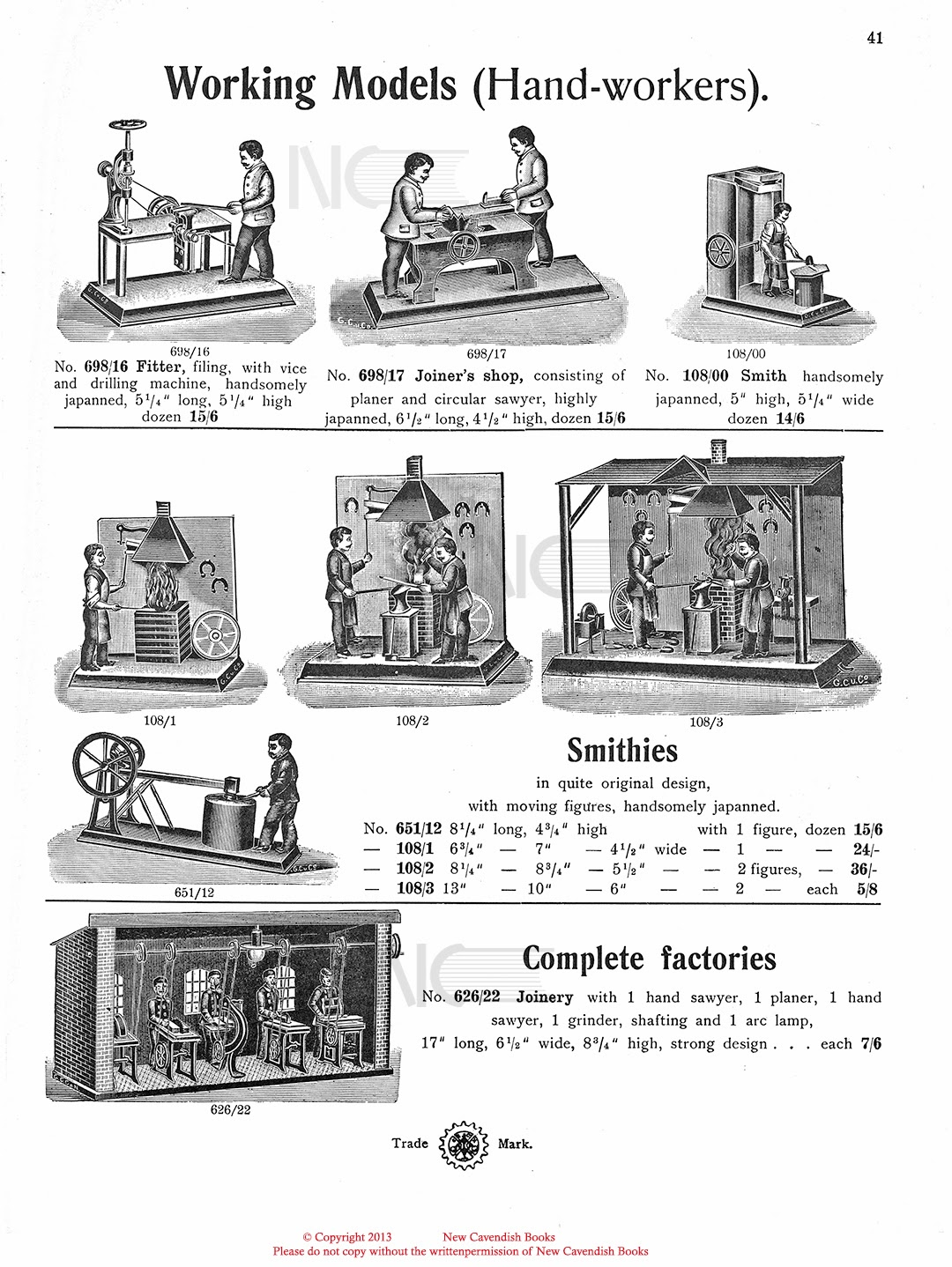 Old Antique Toys The Magnificent Steam Engine Systems Of