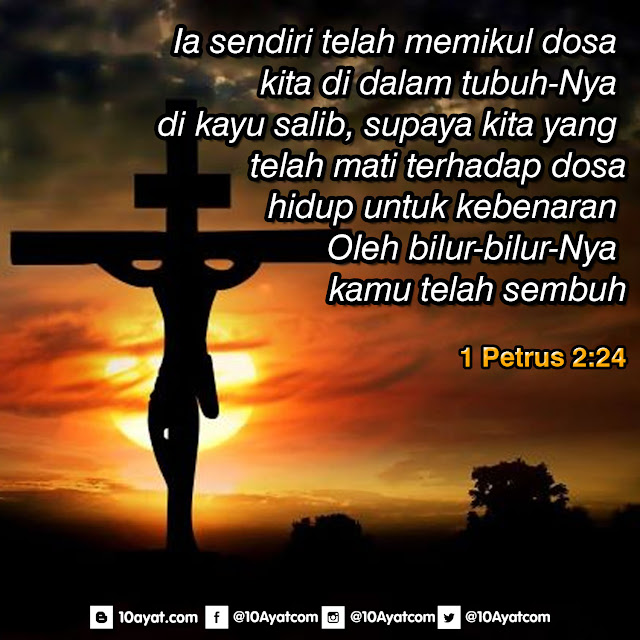 1 Petrus 2:24