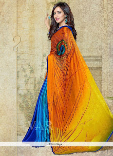 Indian-stylish-crepe-lehenga-silk-sarees-to-keep-you-fashionable-9